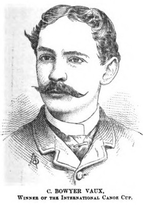 C. Bowyer Vaux, first winner of the NYCCCC Tropy in 1886