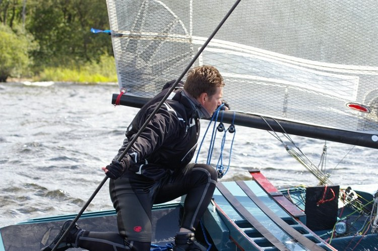 Photo: European Champs at Loch Lomond, 2013. © Jim Champ