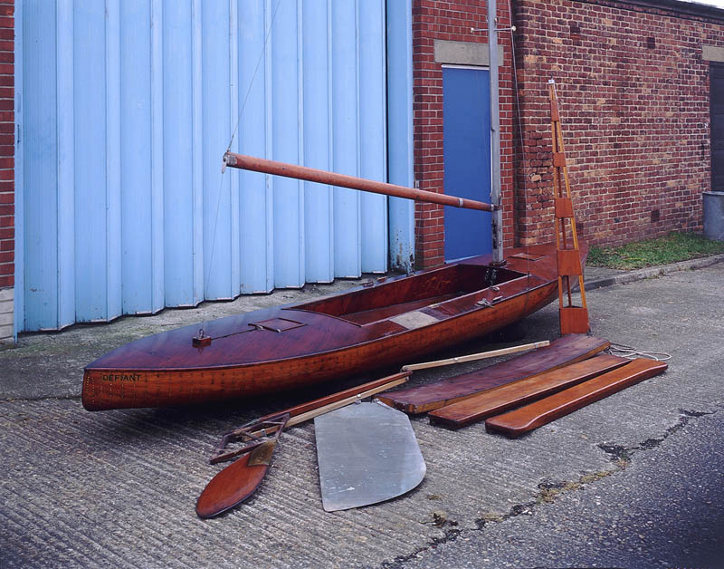Photo: K 23, Defiant. An Uffa Fox Canoe from 1934