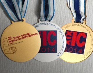 Photo: Worlds Championship Medals